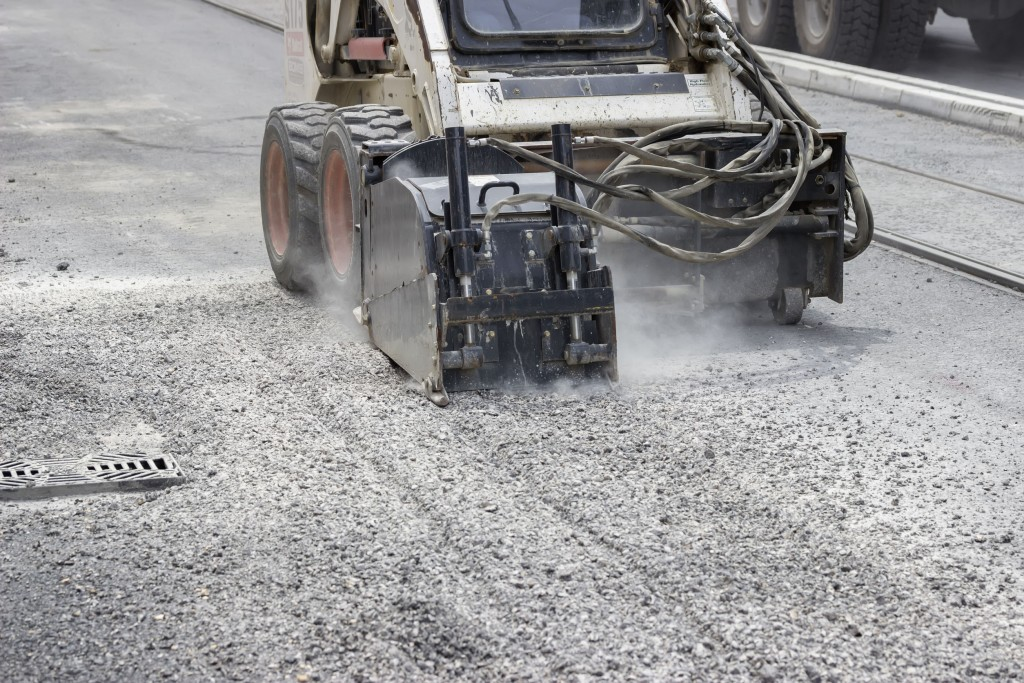 requisitos para usar una fresadora de pavimento,